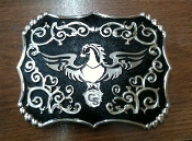 C.S. Belt Buckle Antique
