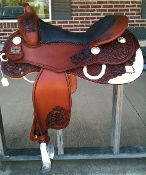 saddle color shown CHESTNUT with ANTIQUE Finish