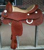 Saddle shown in CHESTNUT