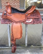 Saddle shown in ANTIQUE